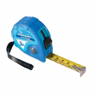 Silverline 633818 3m Measure Mate Tape